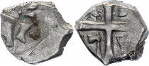 Gaule Drachme, Volques Tectosages - Drachme à la tête cubiste - 16 em ex