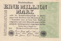 Germania 1 000 000 Mark 1923  - Serial WK