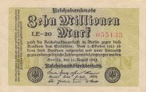 Germania 10 000 000 Mark 1923 - Serial LE-20