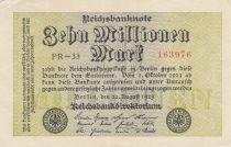 Germania 10 000 000 Mark 1923 - Serial PR-33