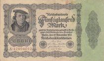 Germania 50000 Mark Burgermaster Brauweiler - 1922 Serial A