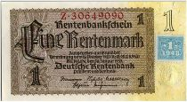 Germany (DDR) 1 Deutsche Mark - Bown and yellow - 1948