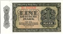 Germany (DDR) 1 Mark Green and ligh Green - 1948