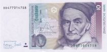 Germany (Federal Rep.) 10 D Mark - Carl Friedr Gauss - 1993 - UNC - P.38c