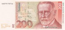 Germany (Federal Rep.) 200 D. Mark, Paul Ehrlich (1854-1915) - 1989 - P.42 - aUNC