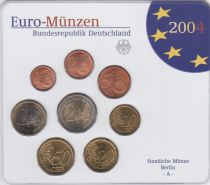 Germany (Federal Rep.) Série 8 monnaies 2004 - FDC - Berlin