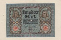Germany 100 Mark Bamberg horseman - 1920 - P.69 - Serial X - XF