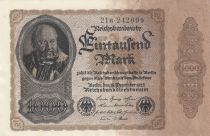 Germany 1000 Mark Mintmaster J. Herz - 1922 - P.82a