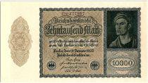 Germany 1000 Mark Portrait of man by Durer - 1922 - aUNC - P.72 - Serial 13M