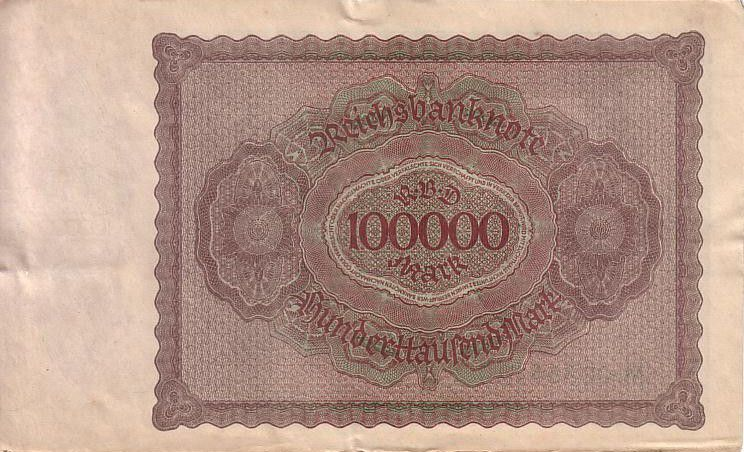 Germany 100000 Mark Merchant Gisze