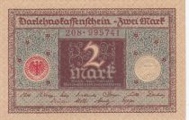 Germany 2 Mark - 1920 - P.60 - AU to UNC