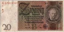 Germany 20 Reichsmark 1929 - serial B