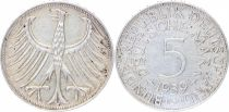 Germany 5 Mark Imperial Eagle - 1959
