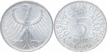 Germany 5 Mark Imperial Eagle - 1972