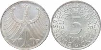 Germany 5 Mark Imperial Eagle - 1973 G