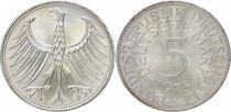 Germany 5 Mark Imperial Eagle - 1973 J