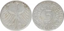 Germany 5 Mark Imperial Eagle - 1974 D