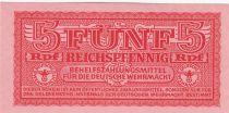 Germany 5 Reichspfennig- 1944 - P.M.33 - UNC
