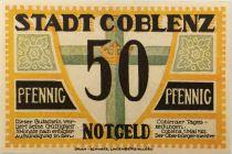 Germany 50 Pfennig, Coblenz - notgeld 1921 - UNC