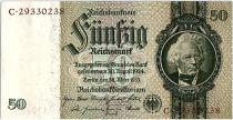 Germany 50 Reichsmark 1933 - Serial C - AU - P.182