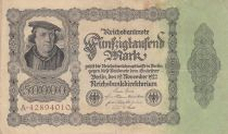 Germany 50000 Mark Burgermaster Brauweiler - 1922 Serial A