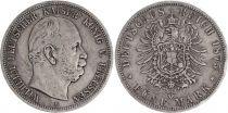 Germany Germany, Prussia, Wilhelm I - 5 Mark 1875 B Hanover - F+