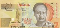 Ghana   2 Cedis, K. Nkrumah - Bank of Ghana - 2015