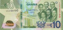 Ghana 10 Cédis  - 2019 - Neuf - P.47