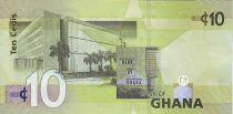 Ghana 10 Cedis K. Nkrumah et 5 leaders - Banque Centrale