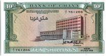 Ghana 10 Schilling - Bank of Ghana - 1963