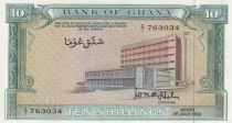 Ghana 10 Shillings Banque Centrale - 1963