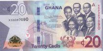 Ghana 20 Cédis  - 2019 - Neuf - P.48