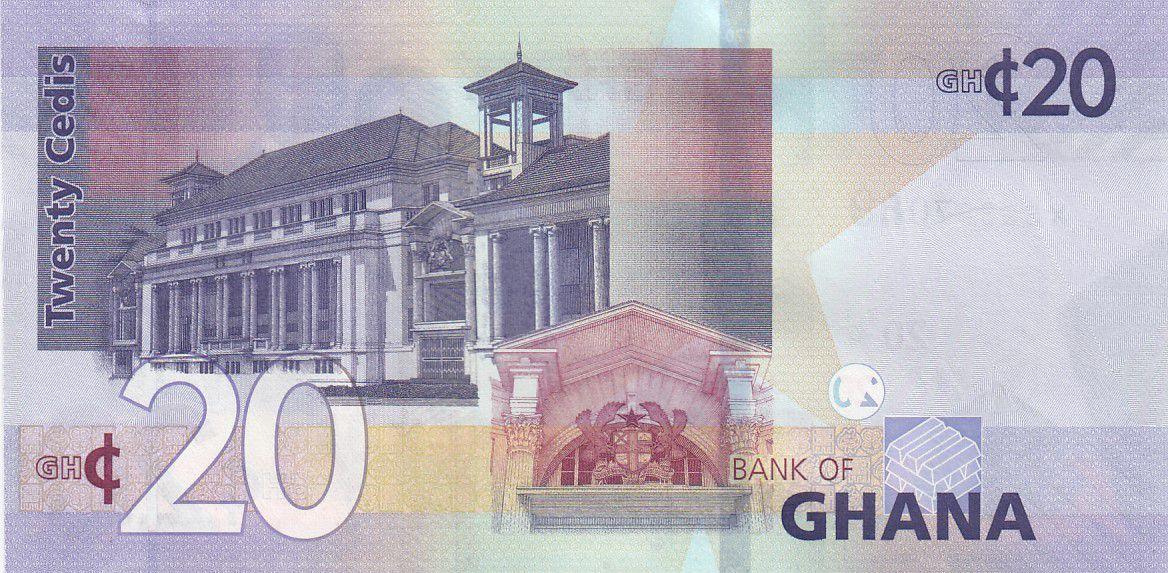 Ghana 20 Cédis  - 2019 - UNC - P.48