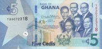 Ghana 5 Cédis  - 2019 - UNC