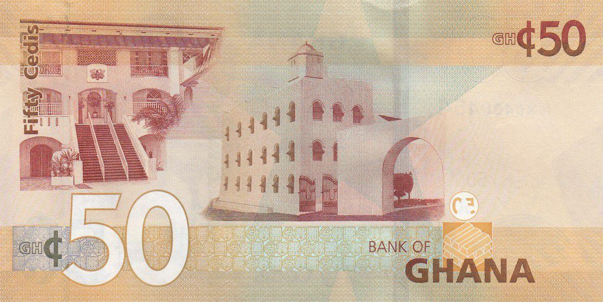 Ghana 50 Cédis  - 2019 - UNC - P.49
