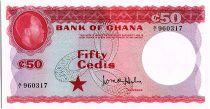 Ghana 50 Cedis - Kwame Nkrumah - 1965