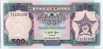 Ghana 500 Cedis - Work and Industry - 1991