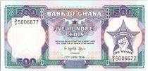 Ghana 500 Cedis - Work and Industry - 1994
