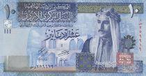 Giordania 10 Dinars King Talal Ibn Adbdullah - First Parliament - 2018