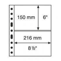 Grande Plastic Pockets, one-way division, black - 2S