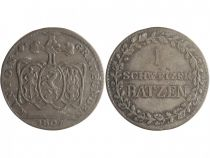 Graubunden 1 Schweizer Batzen Batzen, Arms