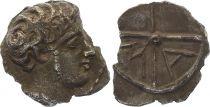 Grèce (Ionie) Obole de Marseille,  Tête à droite - Type aux favoris (c.350-220)