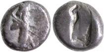 Grèce (Perse) Siglos, Rois Achéménide - Carré creux (480-420)