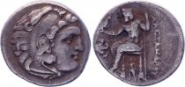 Grèce (Thrace) Drachme, Thrace. Lysimaque (-305-281) - 5e ex.