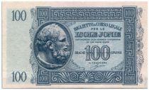 Grèce 100 Drachm Vieil Homme