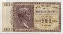 Grèce 1000 Drachmai Isole Jonie -  1941