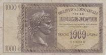 Grèce 1000 Drachmes Caesar - Ile Ionnienne - 1941 - TB