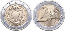 Grèce 2 Euro 30 ans Drapeau Européen - 2015
