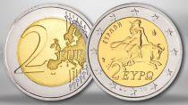 Grèce 2 Euro Europa et Taureau