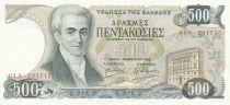 Grèce 500 Drachmes 1983 - I. Capodistrias, Corfu